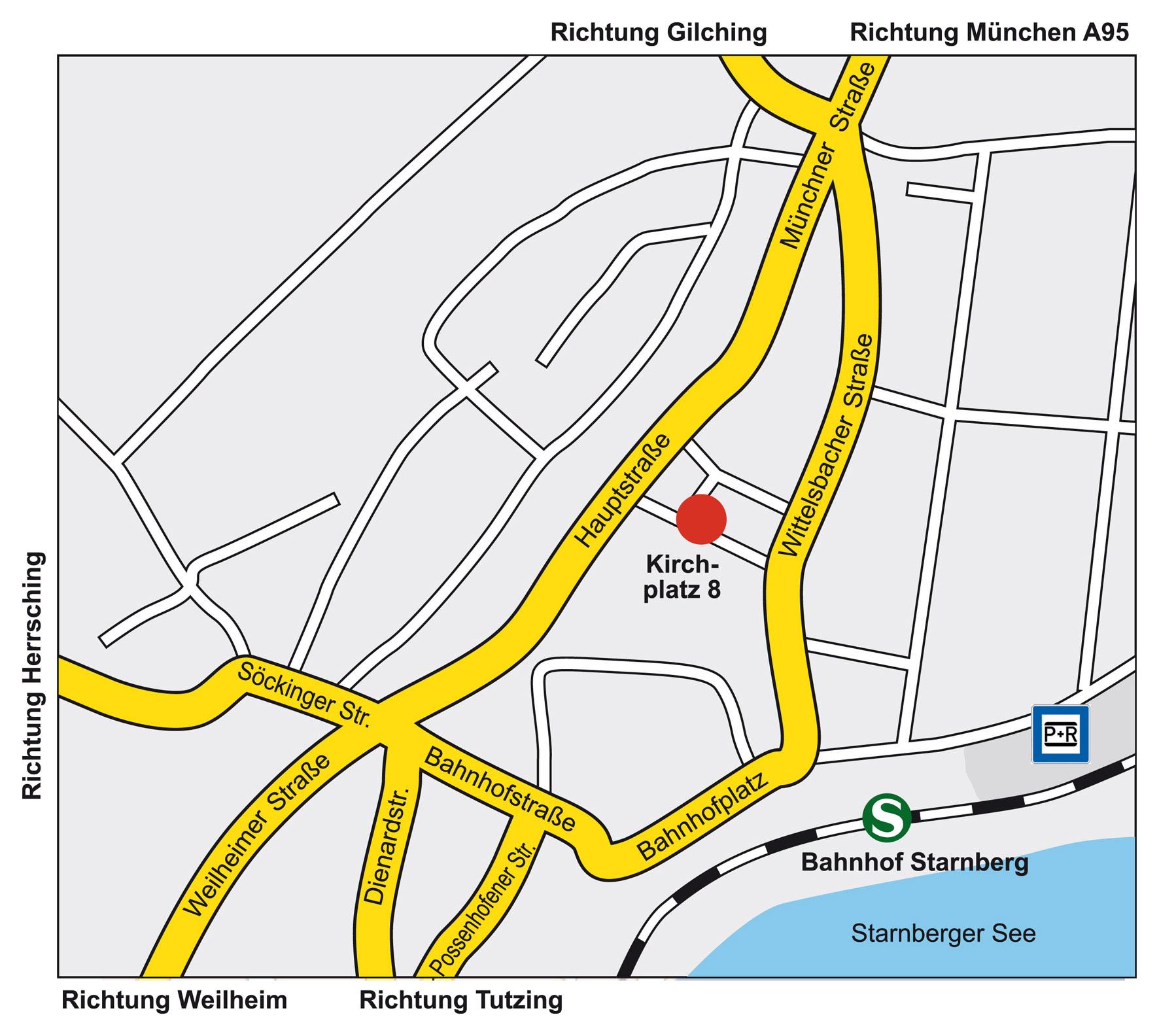 Sehakademie Starnberg, Kirchplatz 1, 82319 Starnberg
